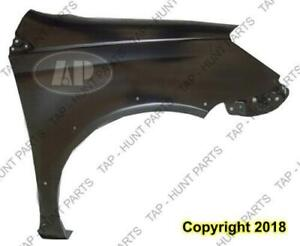 Fender Front Passenger Side With Wheel Moulding Hole Toyota Echo 2003-2005