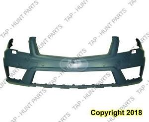 Bumper Front Primed With Sensor With Headlight Washer Hole With Amg Package Glk 350 Mercedes G-Class 2010-2012