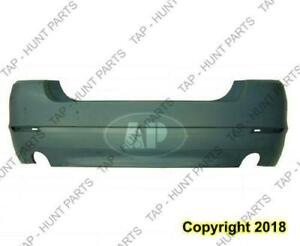 Bumper Rear Primed Without Sensor Without M Package (535 Model) CAPA BMW 5-Series 2011-2013