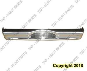 Bumper Rear Chrome Without Sensor Ford Econoline 1992-2007