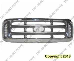 Grille Chrome  Ford F250 F350 F450 F550 1999-2003