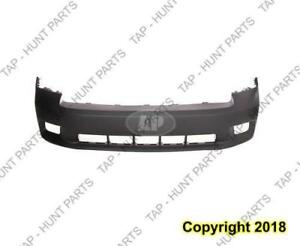 Bumper Front Primed Black With Sport Model With Fog Light Hole Ram1500 Dodge Ram 2009-2012
