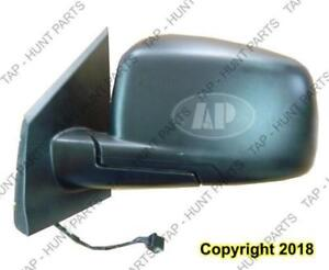 Door Mirror Power Driver Side Heated Textured Se Dodge Journey 2009-2015