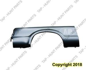 Outer Bedside Panel Rear Passenger Side (7 Foot Bed With Single Rear Wheel) CAPA Ford F250 F350 F450 F550 2008-2010