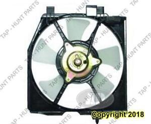 AC Fan Assembly Passenger Side Without Turbo Mazda Protege 1999-2003