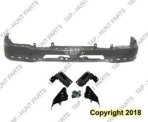 Bumper Front Primed With Bracket Old Style Model Chevrolet Silverado 2007