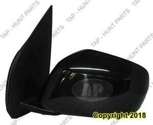 Door Mirror Power Driver Side Heated Textured Nissan PATHFINDER 2001-2004