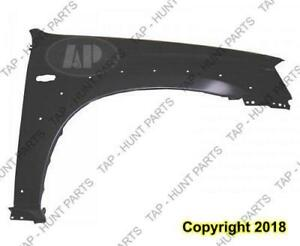 Fender Front Passenger Side With Wheel Moulding Hole Mazda Tribute 2001-2006