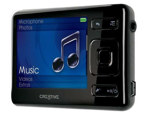 creative zen ipods mp3 players ebay. Black Bedroom Furniture Sets. Home Design Ideas