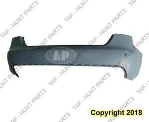 Bumper Rear With Sensor Hole Primed Without S-Line Audi A4 2009-2012