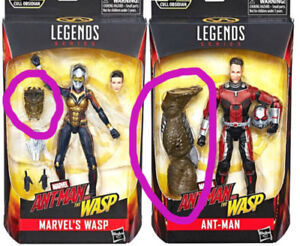 Marvel Legends Ant-man & The Wasp Cull Obsidian BAF parts only
