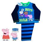 Boys Peppa Pig Pyjamas