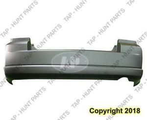 Bumper Rear Primed With Exhaust CAPA Dodge Caliber 2007-2012