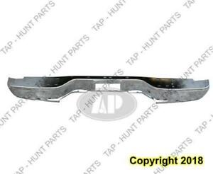 Bumper Rear Chrome Face Bar Fleet Side Chevrolet Silverado 1999-2006