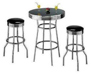 Exceptionnel Bar Table And Stools