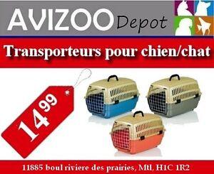 TRANSPORTEUR POUR CHIEN OU CHAT 12X18X12