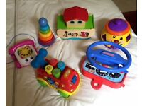 Baby/ Toddler toy bundle - ELC, Fisher Price, VTech