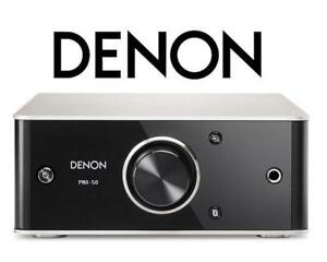 NEW OB DENON DIGITAL AMPLIFIER PMA-50 140519339 COMPACT BLUETOOTH  PC COMPUTER MAC OPEN BOX