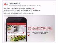Love Japan? - We need Volunteer/Interns in Japan Events, Social Media Marketing - DEADLINE 22nd