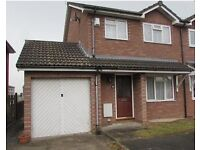 3 bedroom semi detached located in very popular residential area