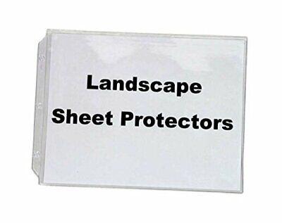 Legal Landscape Sheet Protectors For Legal Size Paper 10 In A Set Crystal