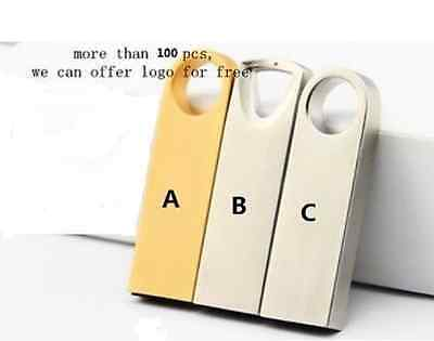Simple Metal Waterproof USB 2.0 Memory Stick Flash pen Drive 4GB - 64GB AQ165