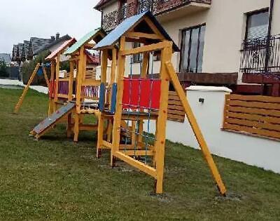 Área de Juegos Torre Escalada Parque Infantil Casa Toys Exterior Medida Hecho...