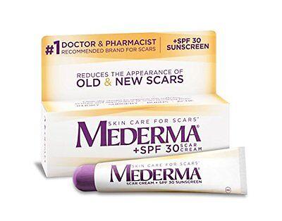 New Sealed Mederma SPF 30 Scar Cream 0.70 oz 20g Skin Care SunScreen 12/2017 Exp