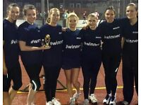 Netball player wanted - friendly social team in Brixton, Monday evenings