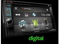 DOUBLE DIN KENWOOD (DDX-4015DAB) STEREO WITH DAB+ & DVD/CD PLAYER, BLUETOOTH