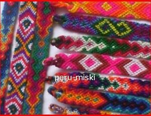 100-FRIENDSHIP-BRACELETS-from-CUZCO-PERU-Handmade-with-Wool