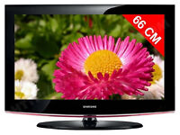 samsung le32b450. lcd tv and very good condition. free view build in. usb port