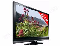 """URGENT 81.3 cm (32"""") Toshiba LCD TV. Fully operational, with remote control, 3x HDMI port, Black"""