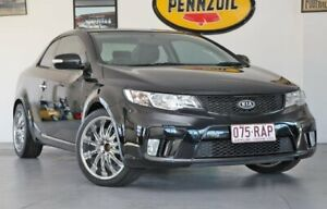 2009 Kia Cerato TD MY10 Koup Black 4 Speed Sports Automatic Coupe Wynnum Brisbane South East Preview
