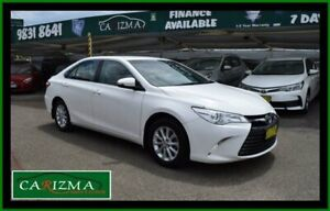 2016 Toyota Camry ASV50R MY16 Altise White 6 Speed Automatic Sedan Seven Hills Blacktown Area Preview