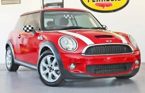 2010 Mini Hatch R56 Cooper S Red 6 Speed Manual Hatchback Wynnum Brisbane South East Preview