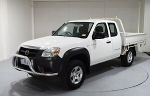 2011 Mazda BT-50 DX+ Freestyle White 5 Speed Manual Cab Chassis Kings Meadows Launceston Area Preview
