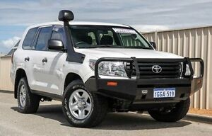 2015 Toyota Landcruiser VDJ200R MY13 GX White 6 Speed Sports Automatic Wagon Wangara Wanneroo Area Preview