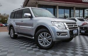 2014 Mitsubishi Pajero NX MY15 Exceed Silver 5 Speed Sports Automatic Wagon Alfred Cove Melville Area Preview