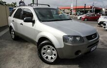 2008 Ford Territory SY TX Silver 4 Speed Sports Automatic Wagon Bayswater Bayswater Area Preview