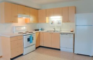 2 Bedroom Open Layout With In suite Laundry