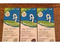 3x Rio Olympic Diving Tickets 2016