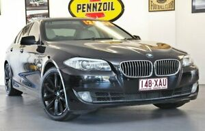 2010 BMW 535i F10 (No Badge) Black Sports Automatic Wynnum Brisbane South East Preview