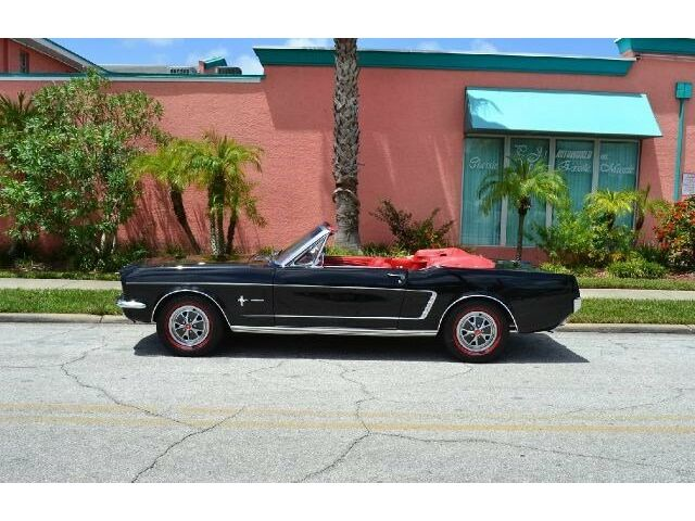 """Ford : Mustang CONVERTIBLE automatic transmission14"""" steel wheels red line radial tires dual exhaust"""
