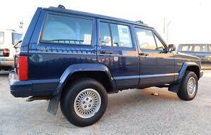1997 Jeep Cherokee XJ Limited (4x4) Blue 4 Speed Automatic 4x4 Wagon Underwood Logan Area Preview