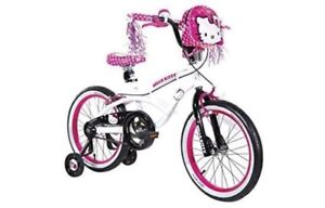 Hello kitty 18 inch bike