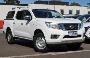 2015 Nissan Navara D23 RX 4x2 White 7 Speed Sports Automatic Utility South Melbourne Port Phillip Preview