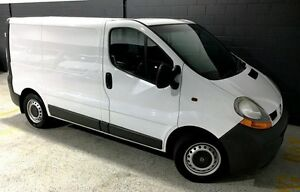 2006 Renault Trafic SWB White 5 Speed Manual Van Southport Gold Coast City Preview