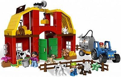 Lego Duplo Big Farm Bauernhof 5649 Großer Bauernhof  Traktor Kuh Schaf Schwein