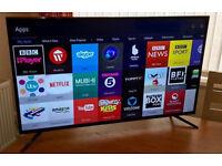 43in Samsung 4k UHD LED Smart TV -WIFI- 800hz Freeview hd - WARRANTY